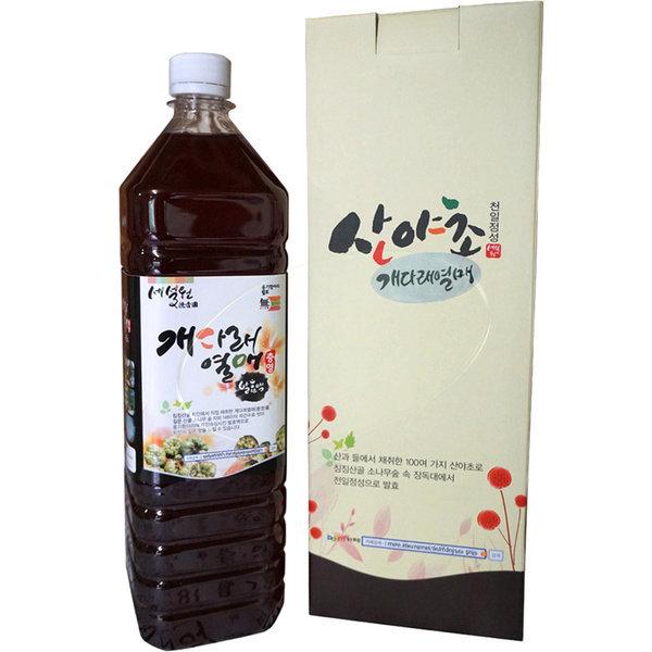 개다래열매 발효액 1000ml /충영/개다래즙/개다래 차 상품이미지