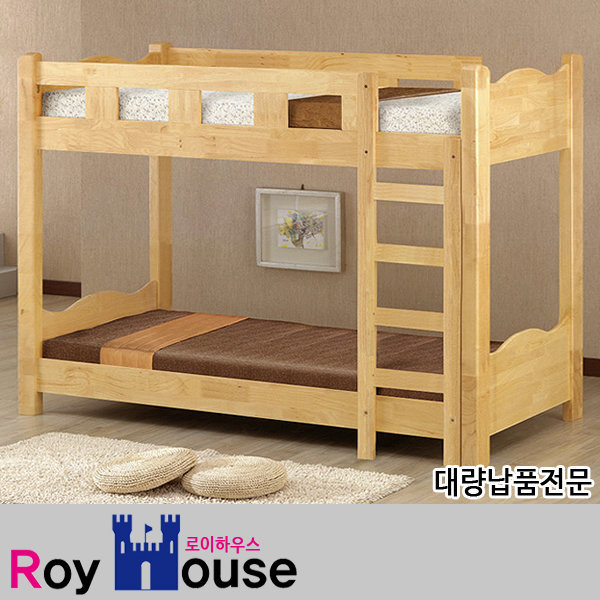 기숙사 원목 이층침대/게스트하우스/대량납품/2층침대 상품이미지