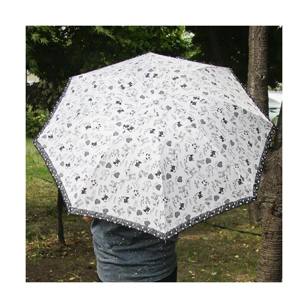 GTH3095 스케치 레이스 3단 우산겸 양산 상품이미지