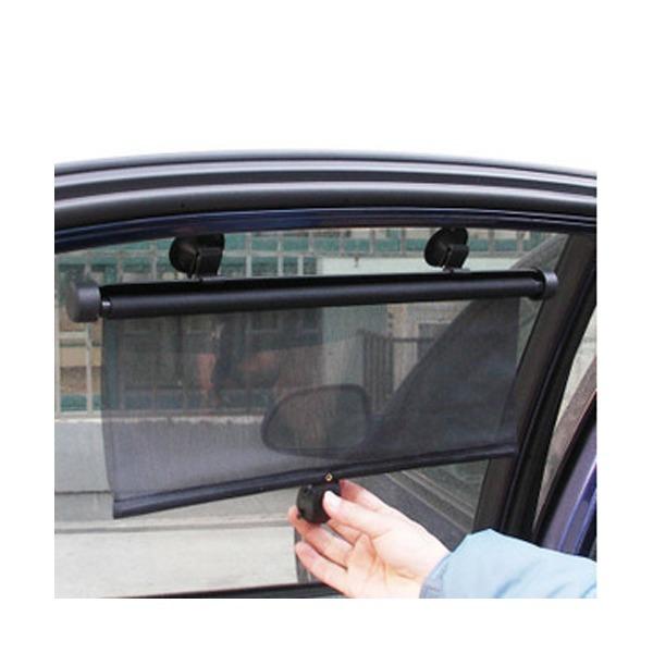 차량용 햇빛가리개(창문용) / 유리 흡착식 롤스크린 상품이미지