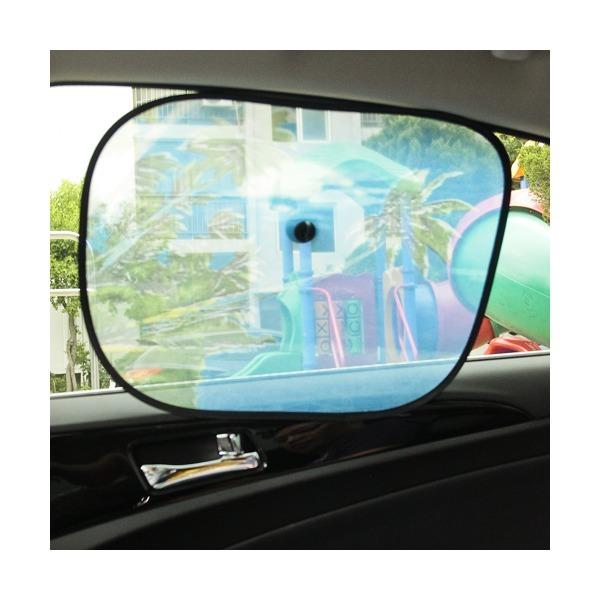 차량용 차광망(2P)/자외선차단 햇빛가리개 보험판촉용 상품이미지