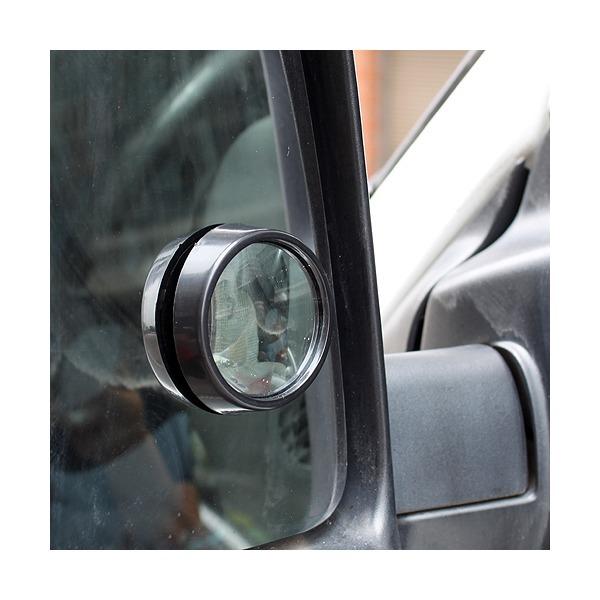 차량용 보조 미러(2P) / 사각지대 최소화 접착식 미러 상품이미지