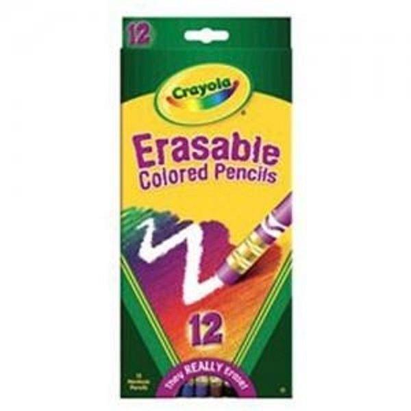 크레욜라 지워지는색연필12색 색연필 미술 상품이미지