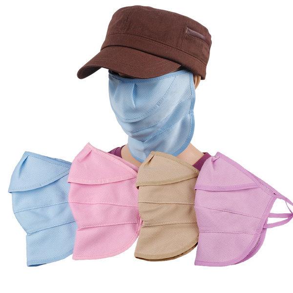 자외선차단마스크/쿨/여름/돌돌이썬캡/모자햇빛가리개 상품이미지