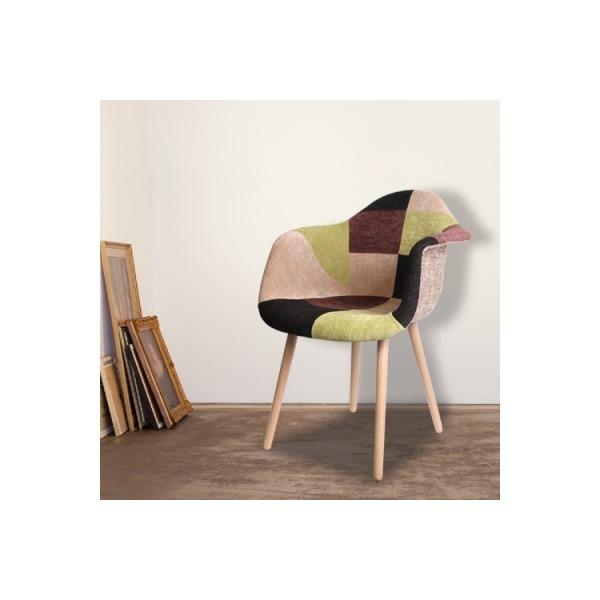 Dazy 퀄트 패브릭 암체어 / 에펠체어 / 인테리어의자 상품이미지