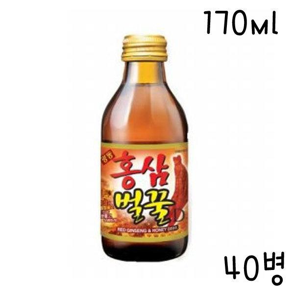 CR/2/광동 홍삼벌꿀 170ml -40병/홍삼드링크/무료배송 상품이미지