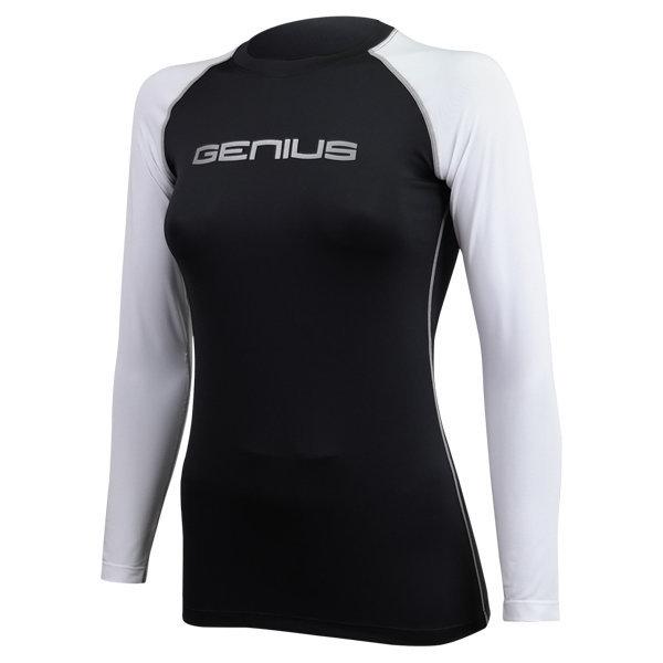 야구 언더셔츠 G404 여성 긴팔 믹스 블랙 화이트 상품이미지