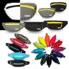 Hip sack / earphone hole / mesh / zipper closure / waterproof / adjustable size /