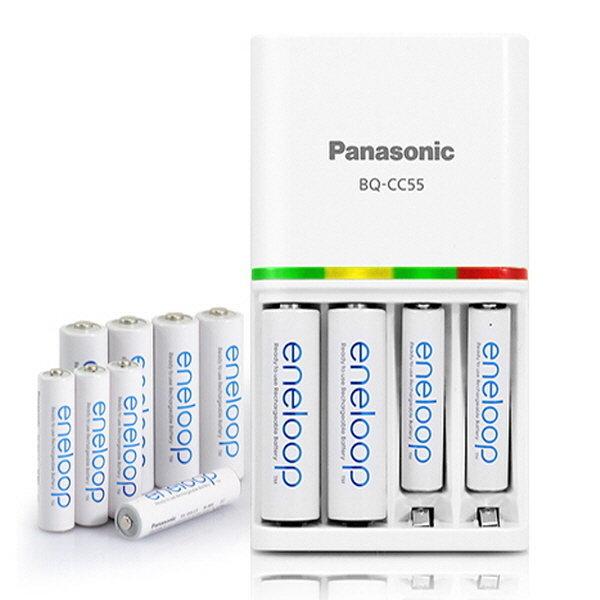파나소닉 에네루프 급속충전기 BQ-CC55 충전지 AA AAA 상품이미지