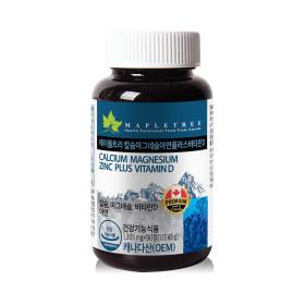 메이플트리 칼슘마그네슘아연+비타민D 90정_3개월분