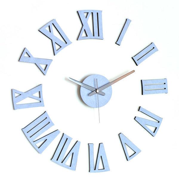 아미공 대형벽시계 DIY 인테리어시계 로만 파스텔블루 상품이미지