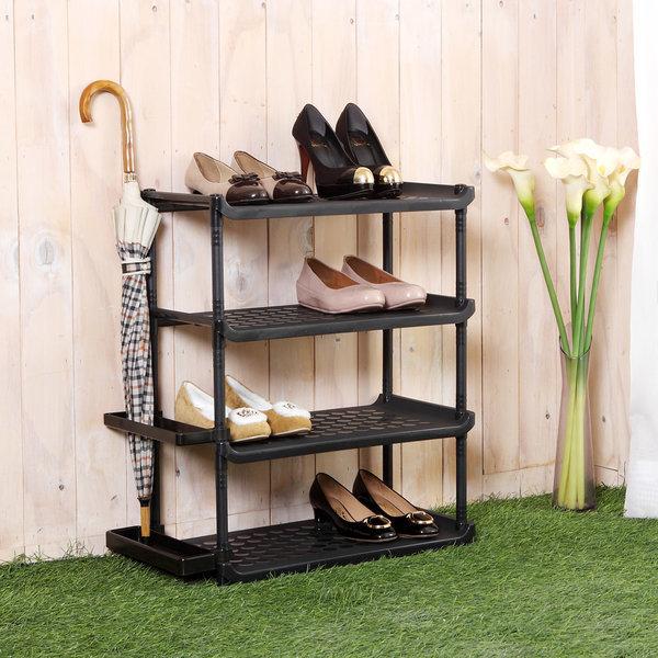 좁은현관 신발장정리대 일자형 신발정리대 상품이미지
