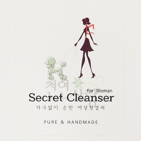 청결제라벨/천연화장품라벨/화장품라벨/클렌징라벨 상품이미지