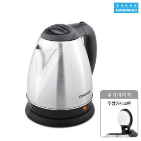 [Kitchen-Art] Electric kettle / stainless steel / single handle / LED indicator light /