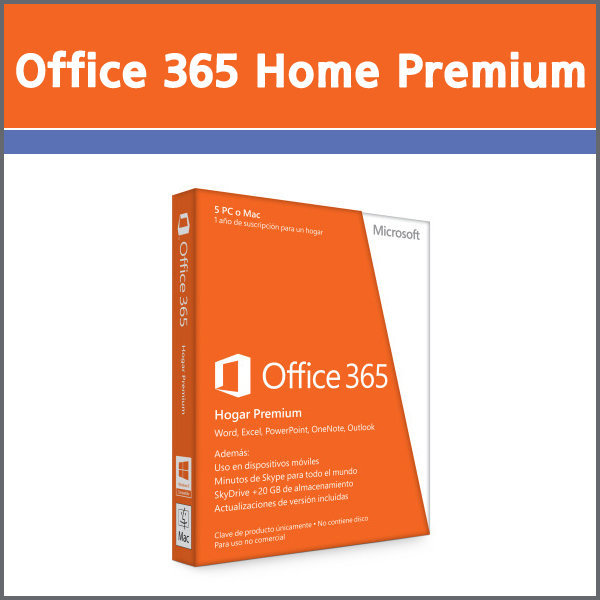 Office 365 Home PremiumPKC / 오피스365 홈프리미엄. 상품이미지