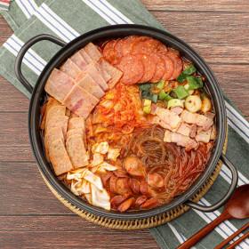 외갓집 송탄 서정리 부대찌개 1kg+1kg 사누끼우동증정