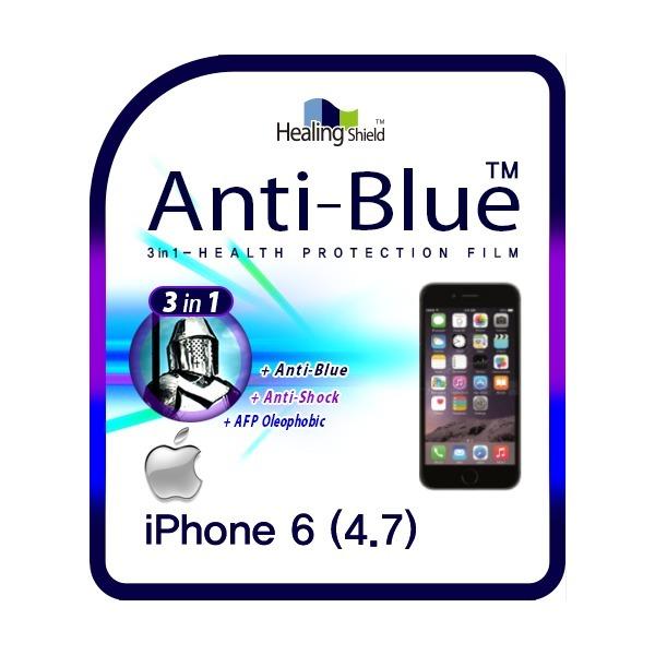 애플 아이폰6 4.7형 안티블루 방탄 액정보호필름 2매 상품이미지