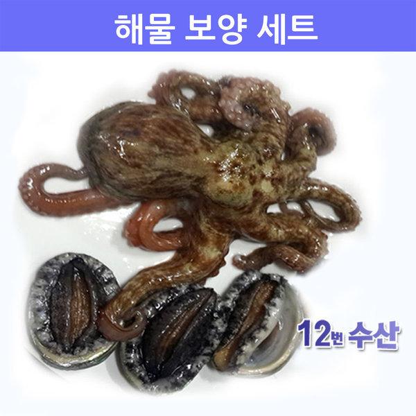 생물 해물 보양 세트/문어+전복/낙지+전복/산소포장 상품이미지