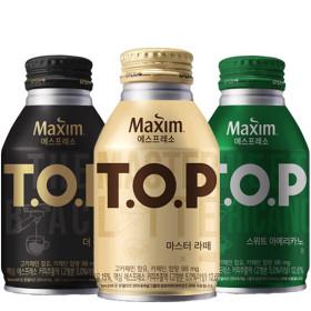 TOP 캔커피 마스터라떼 275ml X20캔(1박스)/음료/커피