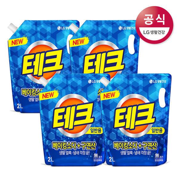 테크 베이킹 구연산2LX4/세탁세제/세제 상품이미지