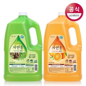 Jayeonpong3.1kg 2pcs/Pongpong/kitchen detergent/Method/highly enriched