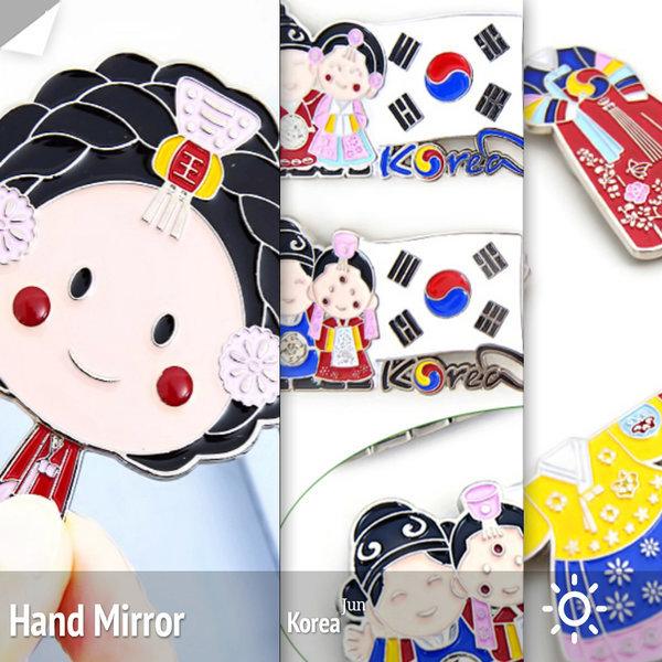 한복냉장고자석(4개)/한국민속촌기념품외국인친구선물 상품이미지