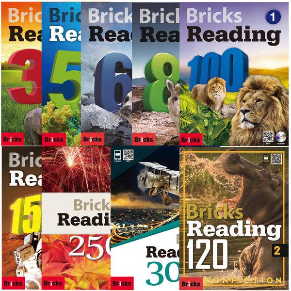 단계별세트 + 사은품 / Bricks Reading 30.50.70.150.200.230.250.300 / 브릭스 리딩 상품이미지