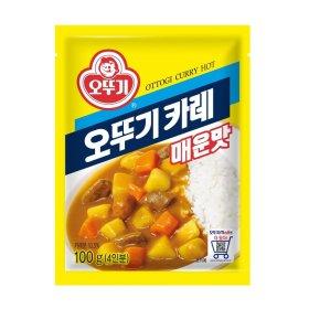 (묶음할인)오뚜기_카레매운맛_100G