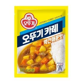 오뚜기_카레약간매운맛_100G