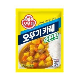 (묶음할인)오뚜기_카레순한맛_100G