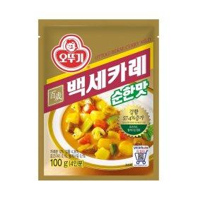 오뚜기_백세카레순한맛_100G