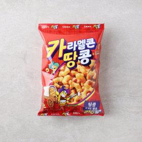 (균일가)크라운_카라멜콘과땅콩_72G