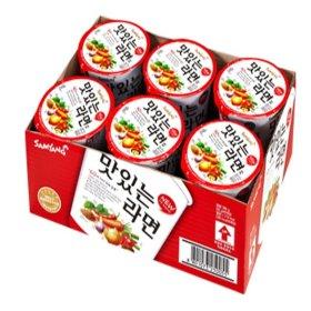 (행사상품)삼양_맛있는라면소컵_65Gx6입