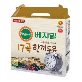 (1+1)정식품_베지밀한끼두유_190MLx16