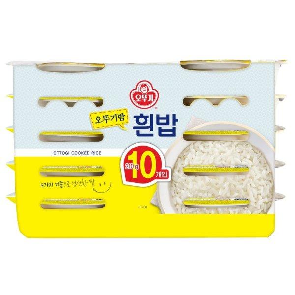 (묶음할인)오뚜기 맛있는밥10입 210Gx10 상품이미지