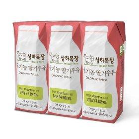 (묶음할인)매일 상하목장유기농멸균딸기125MLx3
