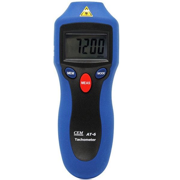 AT-6 타코메타/회전계/RPM측정기/회전수/타코미터 상품이미지