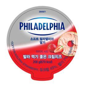 (묶음할인)필라델피아크림치즈 딸기 _200G