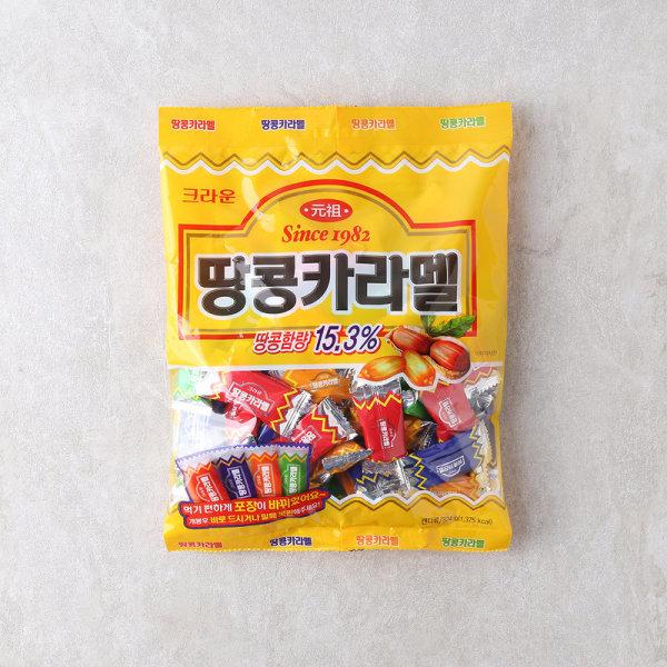 (1+1)크라운 땅콩카라멜 324G 상품이미지