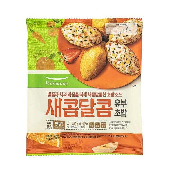 (행사상품)풀무원 새콤달콤유부초밥 330G 상품이미지