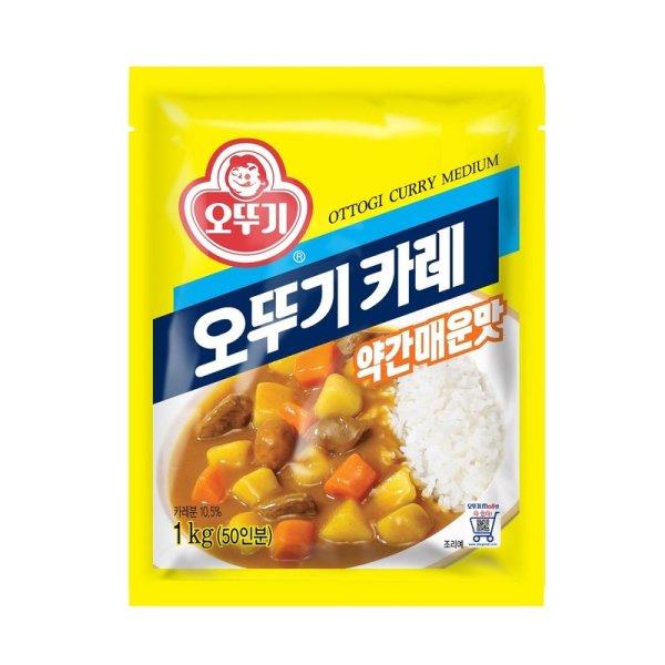 오뚜기_카레약간매운맛_1KG 상품이미지