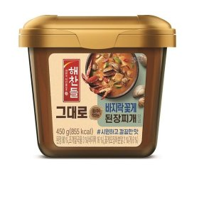 CJ_해찬들그대로끓여먹는된장찌개_450G