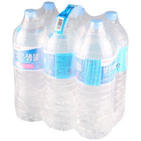 (균일가)6 홈플러스좋은상품 맑은샘물 2Lx6 CP