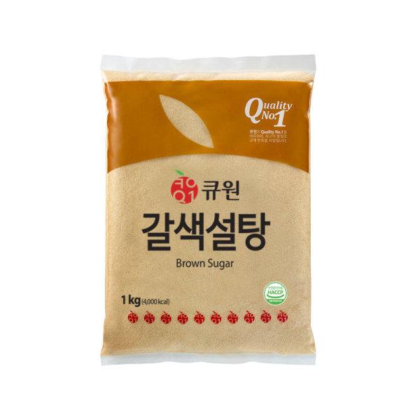 삼양사 큐원갈색설탕 1KG 상품이미지