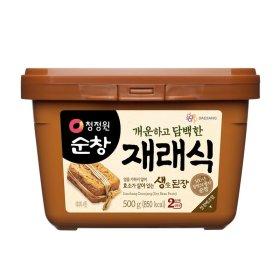 대상_청정원순창재래식생된장_500G