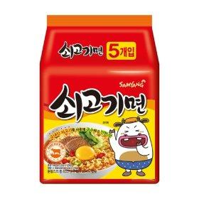 (행사상품)삼양_쇠고기라면_120Gx5입