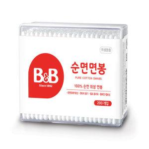 [비앤비]보령_B B유아용면봉_200P