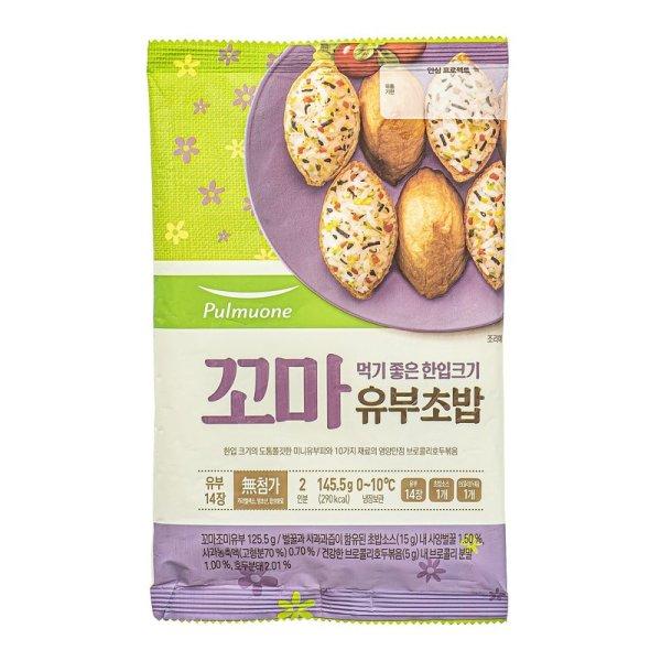 풀무원 SOGA꼬마유부초밥 145G 상품이미지