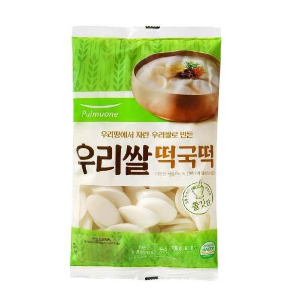 풀무원 생가득우리쌀떡국떡 700G 상품이미지
