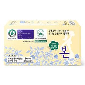 (생리대)유기농본_순면_중형30P